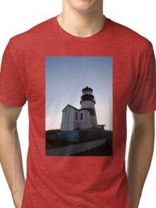Cape Disappointment Lighthouse, Washington Tri-blend T-Shirt
