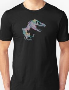 Watercolor Jurassic (black) Unisex T-Shirt