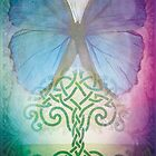 The Wishing Tree by Emma  Wertheim~Blue Butterfly Art