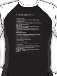 Death By Bullet Point - Dark Garments T-Shirt