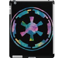 Watercolor Galactic Empire (black) iPad Case/Skin