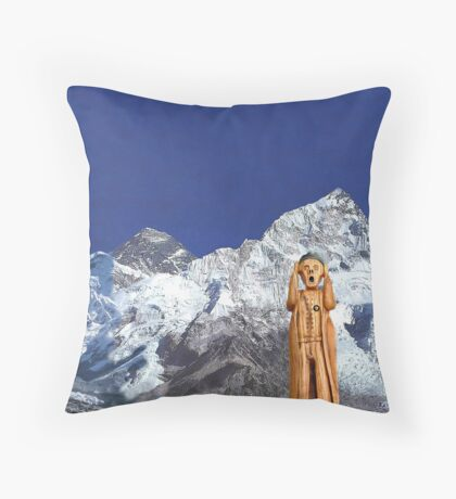 Everest The Scream World Tour  Throw Pillow
