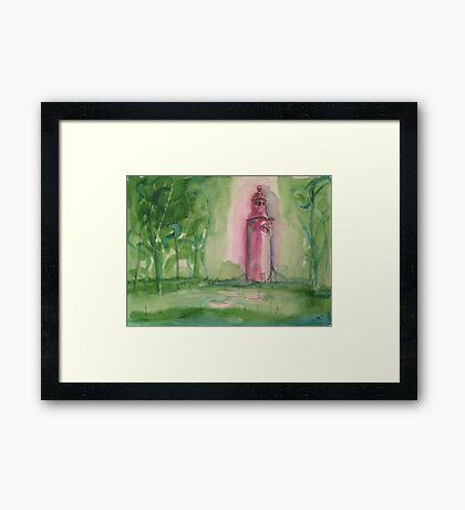 'Old St Matthew, Lightcliffe' Framed Print