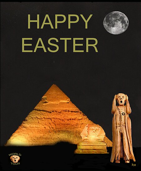 The Scream World Tour Egypt Happy Easter by Eric Kempson