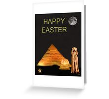 The Scream World Tour Egypt Happy Easter Greeting Card