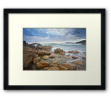 Rocky Cape Dawning Framed Print