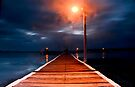 Lighting the Way down the Wharf by bazcelt