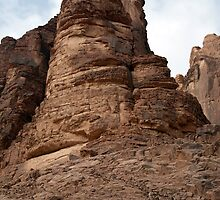 Landscape of Wadi Rum by Mark Prior