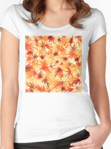 November Maple Women's Fitted Scoop T-Shirt
