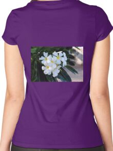 Barbados Spring Theme Women's Fitted Scoop T-Shirt