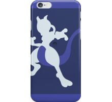 Mewtwo (Blue) - Super Smash Bros. iPhone Case/Skin