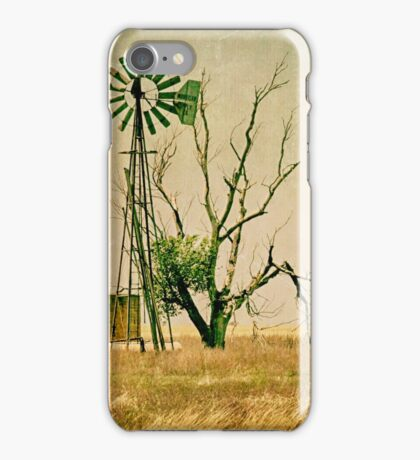 Old Farm Abstract iPhone Case/Skin
