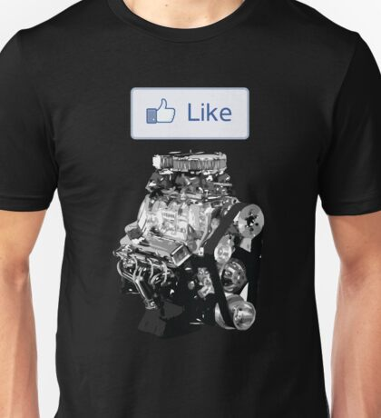 Like Button - Supercharged Unisex T-Shirt