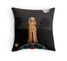 The Scream World Tour Darts Throw Pillow