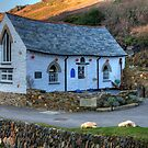 Boscastle Harbour Light by David Wilkins