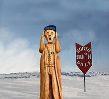 The Scream World Tour North Pole by Eric Kempson
