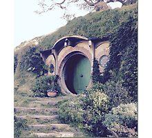 Bilbo's Hobbit Hole Photographic Print
