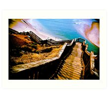 Boardwalk 1 Art Print