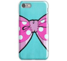 Pink Bow iPhone Case/Skin