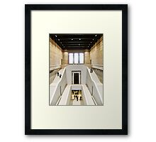 The Neues Staircase Framed Print