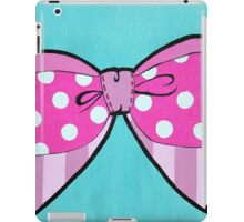 Pink Bow iPad Case/Skin