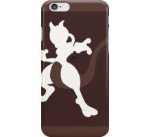 Mewtwo (Brown) - Super Smash Bros. iPhone Case/Skin