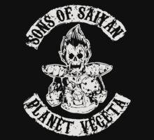 Sons of Saiyan: Planet Vegeta by seriesclothing
