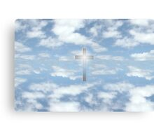 oh heavenly clouds Canvas Print