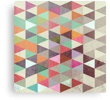 Triangles XXII Canvas Print