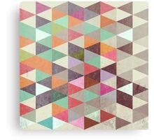 Triangles XXII Canvas Print