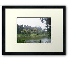 Ooty Lake Framed Print