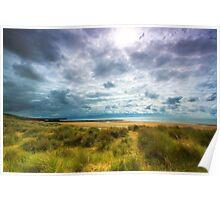 Dune & Fragmented Sky- Freshwater West Poster
