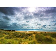 Dune & Fragmented Sky- Freshwater West Photographic Print