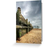 Sea Defence Greeting Card
