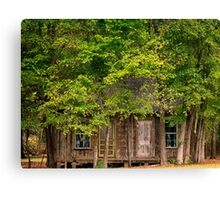Abandoned House East Texas Canvas Print