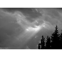 Light ray Photographic Print