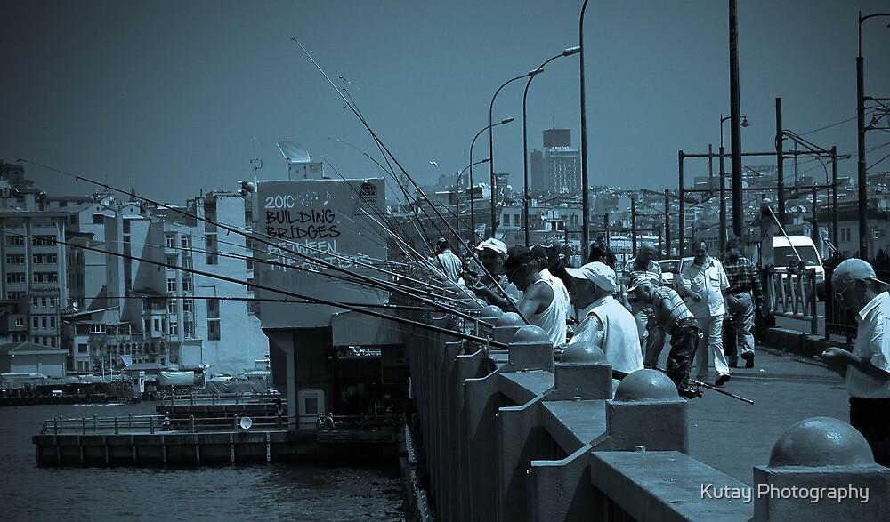 Building Bridges - Galata by Kutay Photography