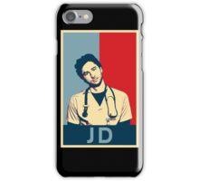 JD Scrubs poster iPhone Case/Skin