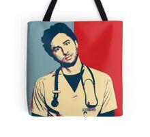 JD Scrubs poster Tote Bag