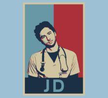 JD Scrubs poster Kids Clothes