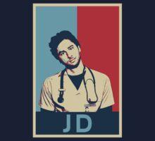 JD Scrubs poster Baby Tee