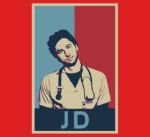 JD Scrubs poster One Piece - Short Sleeve