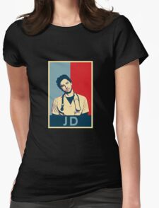 JD Scrubs poster Womens Fitted T-Shirt