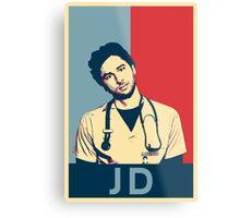 JD Scrubs poster Metal Print