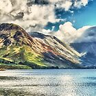 Wast Water Panoramic HDR by LeeMartinImages
