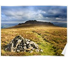 Carn Ingli, Newport, Pembrokeshire Poster