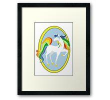 Starlite Fanart - Rainbow Brite Framed Print