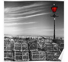 Harbour Light, Tenby Poster