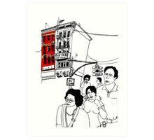 Chinatown (NYC) Art Print
