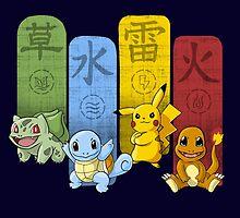 Pokemon Kanji Monsters by IdeasConPatatas